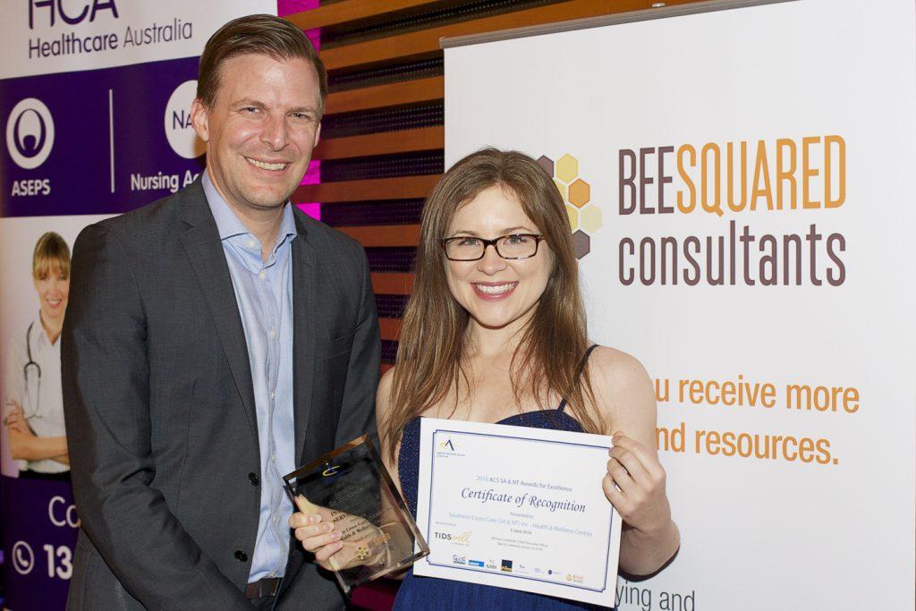 ACS-Awards-2016 Innovation in Service Winner